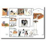 Vie Fraternelle Plan du monastère