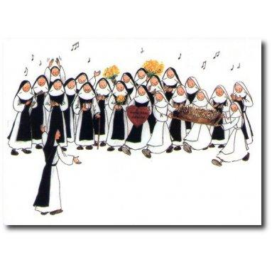 Abbaye Sainte-Marie de Rieunette - Vie fraternelle L'Anniversaire de Mère Abbesse