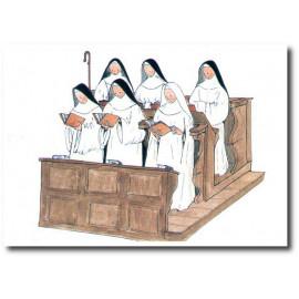Abbaye Sainte-Marie de Rieunette - Prière en communauté