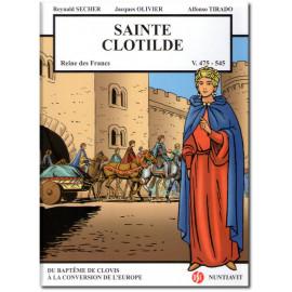 Sainte Clotilde reine des Francs