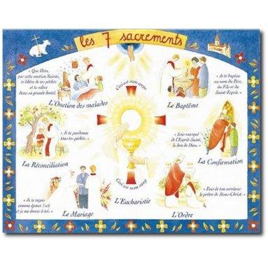 Chantal de Marliave - Les 7 sacrements