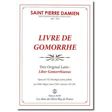 Saint Pierre Damien - Livre de Gomorrhe