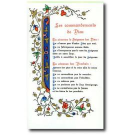 Les Commandements de Dieu