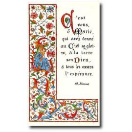 C'est vous O Marie qui avez donné au Ciel sa gloire