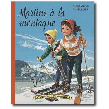 Gilbert Delahaye - Martine à la montagne