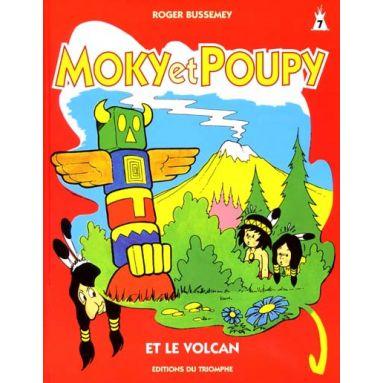 Moky et Poupy et le volcan