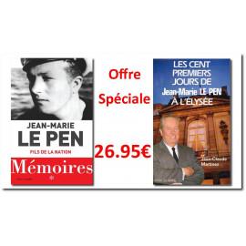 Jean-Marie Le Pen - Le Pen - Offre spéciale Mémoires Tome 1