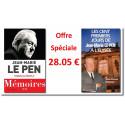 Le Pen - Offre spéciale Mémoires Tome 2