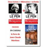 Le Pen - Mémoires tomes 1 & 2 et un livre en cadeau