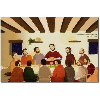 Odile de Bouvier - Institution de l'Eucharistie