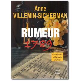 Anne Villemin-Sicherman - Rumeur 1789