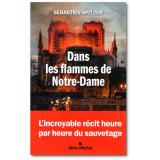 Dans les flammes de Notre-Dame