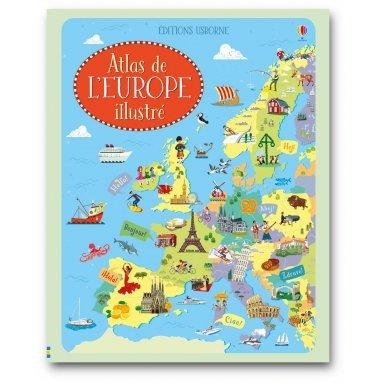 Jonathan Melmoth - Atlas de l'Europe illustré