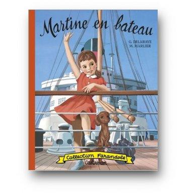 Gilbert Delahaye - Martine en bateau