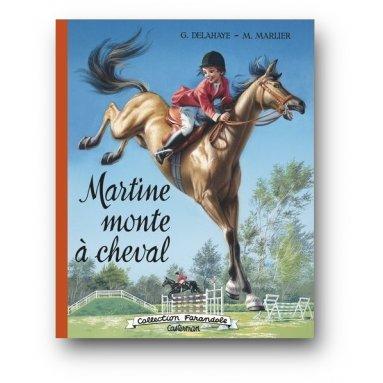 Gilbert Delahaye - Martine monte à cheval