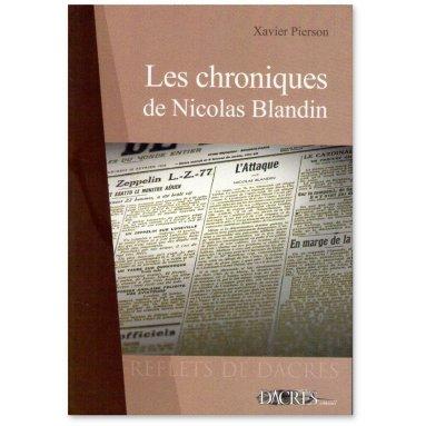 Colonel Xavier Pierson - Les chroniques de Nicolas Blandin