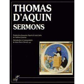 Sermons de Saint Thomas d'Aquin