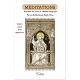 Méditations pour tous les jours de l'année liturgique