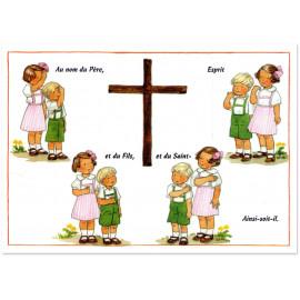 Joëlle d'Abbadie - Le signe de la Croix