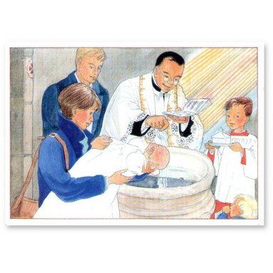Joëlle d'Abbadie - Le baptême