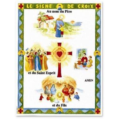 Chantal de Marliave - Le signe de Croix