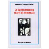 La ratification du Traité de Versailles