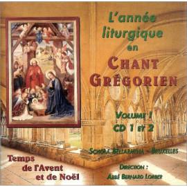 Schola Bellarmina - L'année liturgique en Chant Grégorien - Volume 1