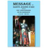 Message de sainte Jeanne d'Arc