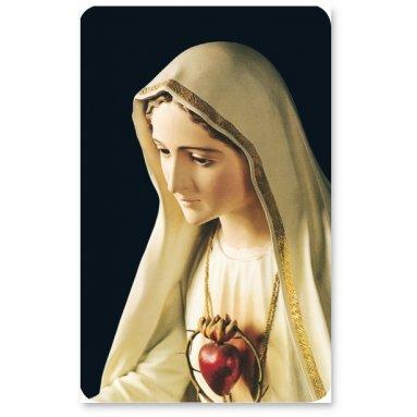Carte prière - Les mystères du Rosaire - CB1122A