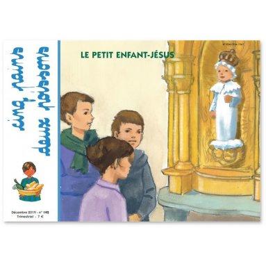 Cinq pains deux poissons - Le petit Enfant-Jésus