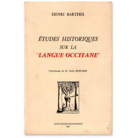 Etudes historiques sur la langue occitane