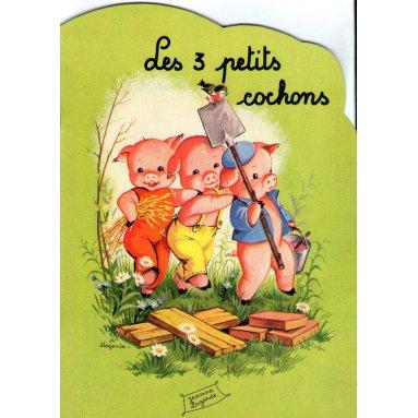 Jeanne Lagarde - Les 3 petits cochons