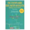 Dictionnaire des mos savants