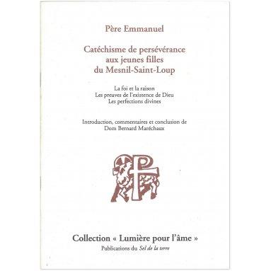 Père Emmanuel - Catéchisme de persévérance aux jeunes filles du Mesnil-Saint-Loup