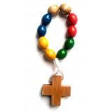 Dizainier en bois de couleur - Perles longues