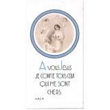 A vous Jésus, je confie tous ceux qui me sont chers - Fille avec Jésus enfant