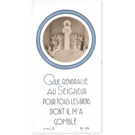 A.M.C. - Que rendrai-je au Seigneur - Garçons avec Notre Seigneur