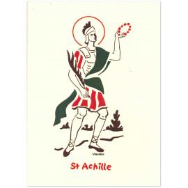 Bénédictines de Vénières - Carte double Achille saint