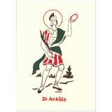 Saint Achille Carte double
