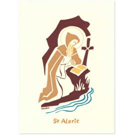 Bénédictines de Vénières - Carte double Alaric saint