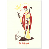 Saint Albert carte double