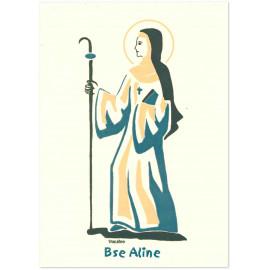Bénédictines de Vénières - Bienheureuse Aline Carte double