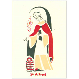 Saint Alfred Carte double