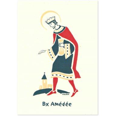 Bénédictines de Vénières - Bienheureux Amédée Carte double