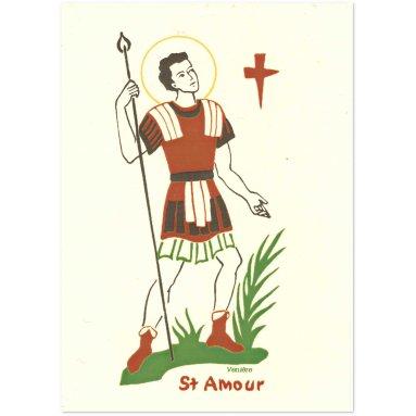 Bénédictines de Vénières - Saint Amour Carte double