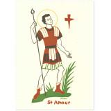 Saint Amour Carte double