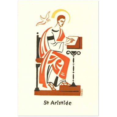 Bénédictines de Vénières - Saint Aristide Carte double