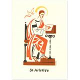 Saint Aristide Carte double