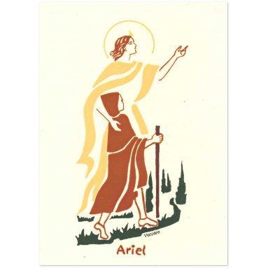 Bénédictines de Vénières - Saint Ariel Carte double