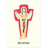 Sainte Ariane Carte double